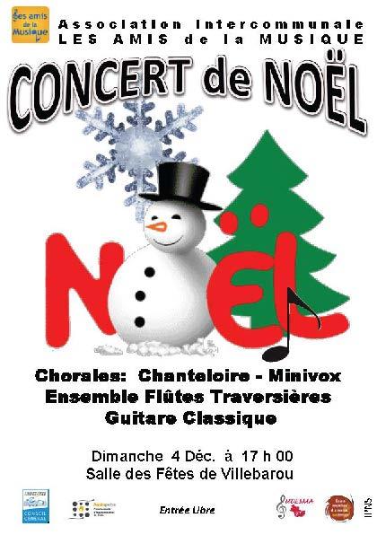 Les Amis de la Musique - Concert de Noël