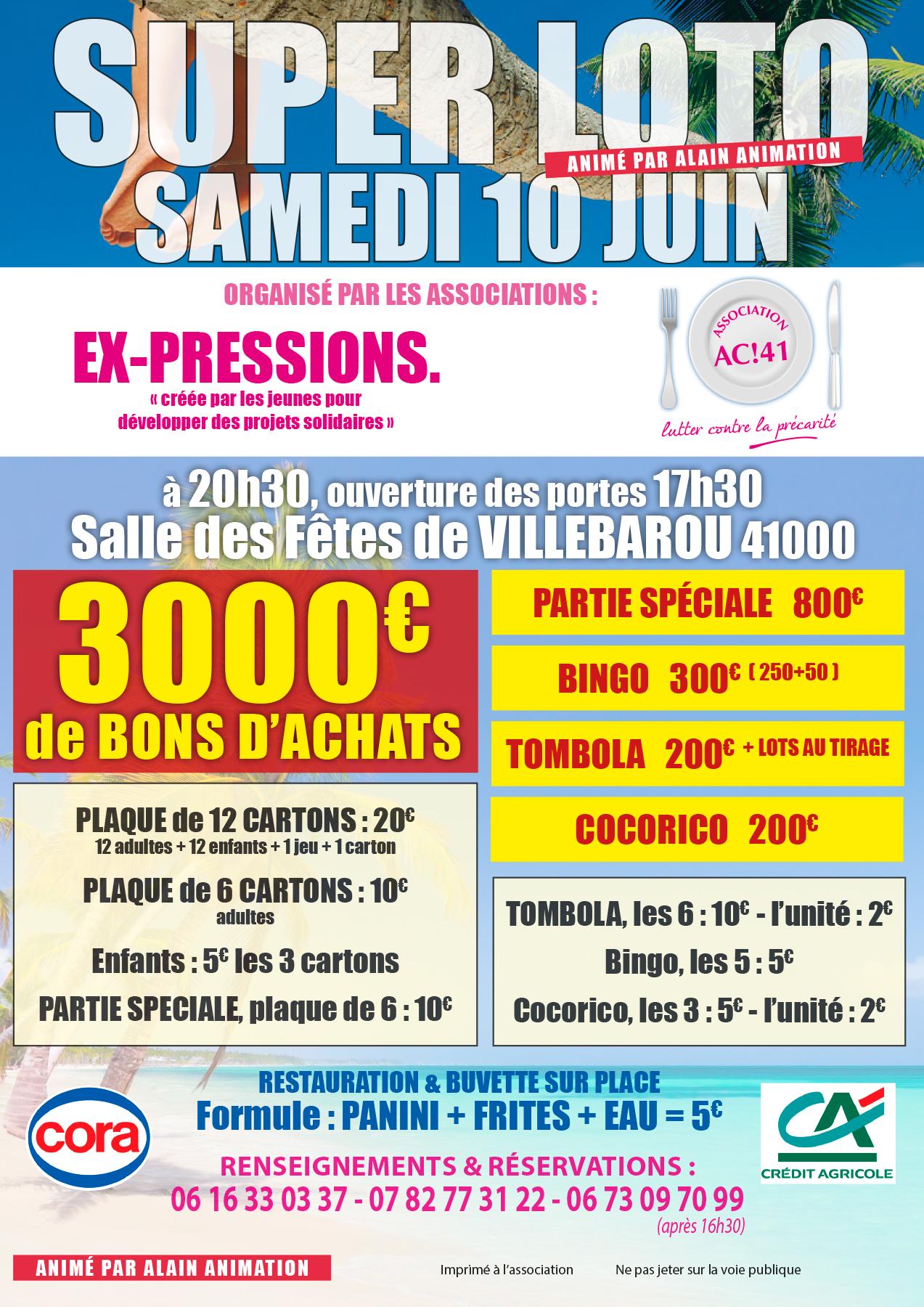 Loto AC!41 Ex-Pressions