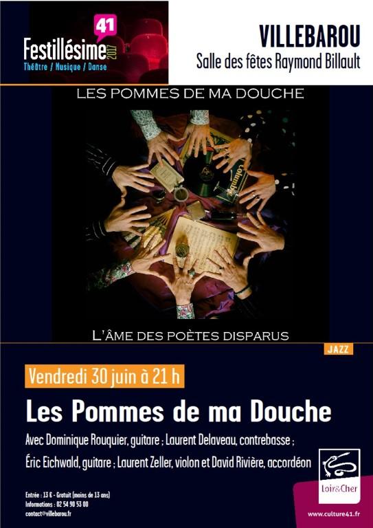 Concert Jazz Les Pommes de ma Douche