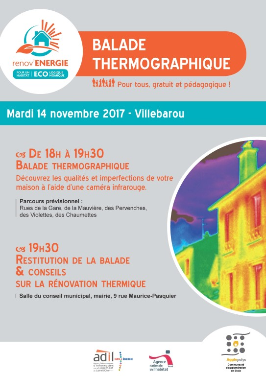 Balade thermographique