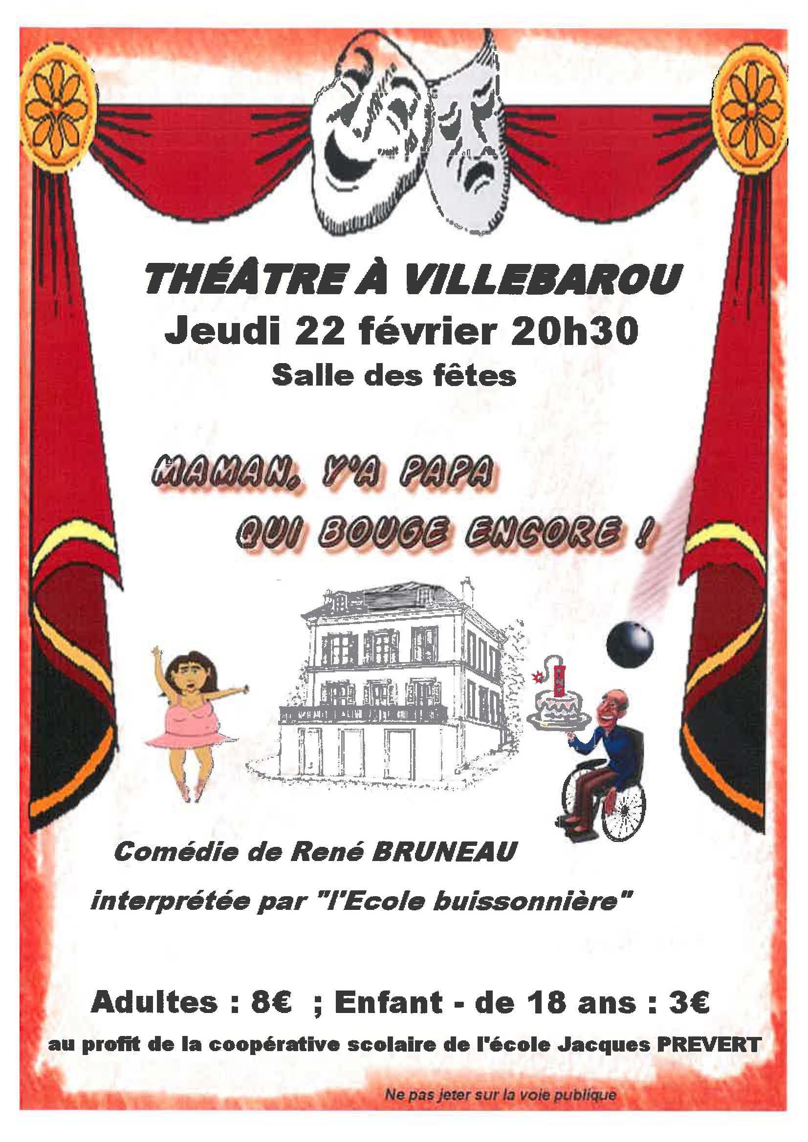 Théatre à Villebarou