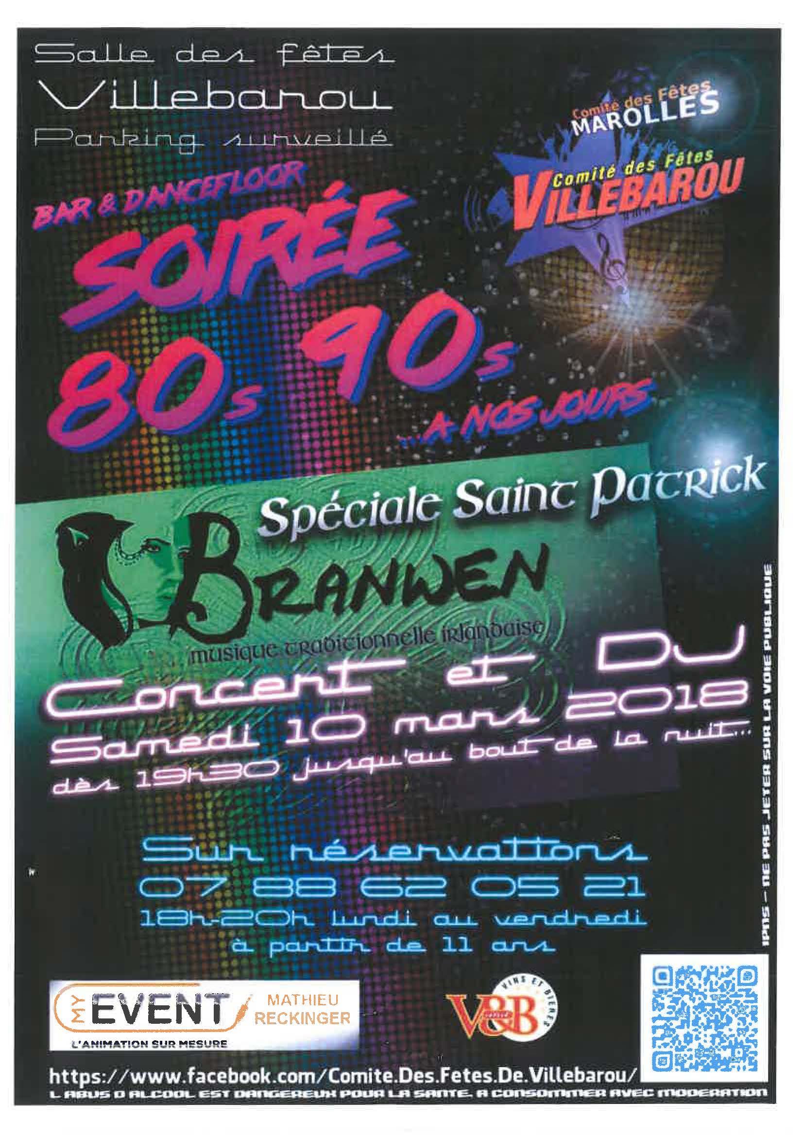 CFV - Soirée 80s -90s