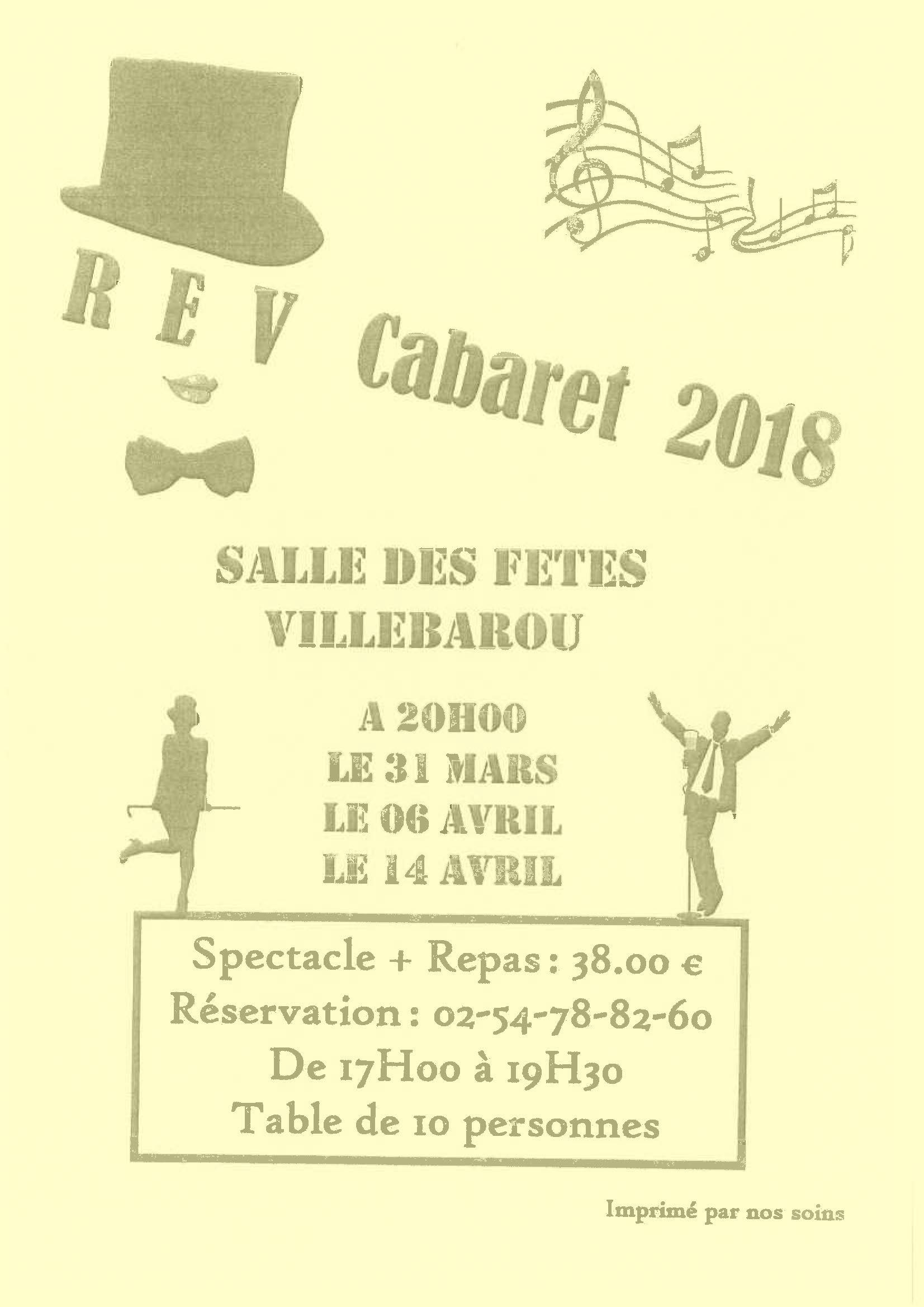 REV - Cabaret