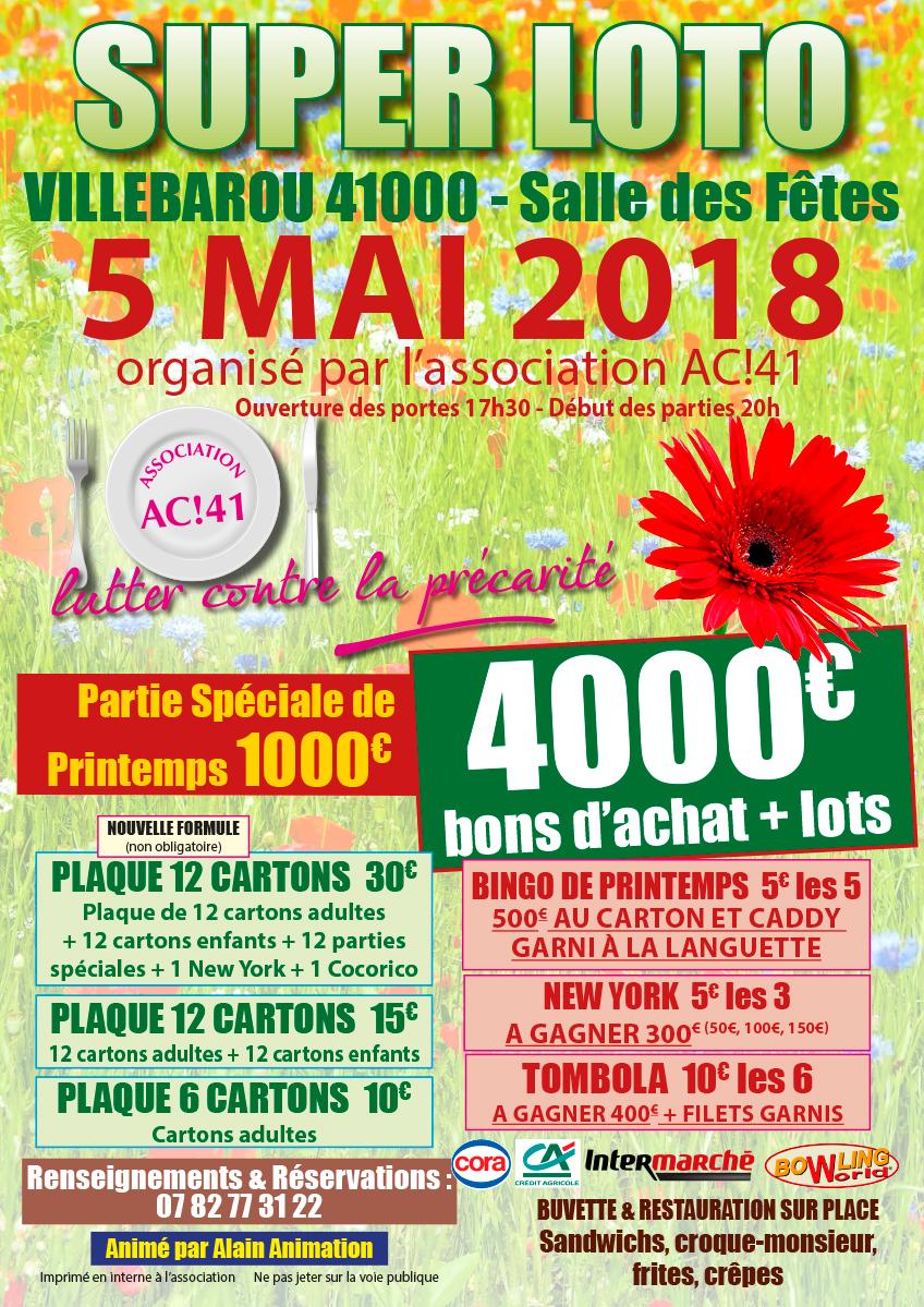 AC!41 - Loto du 5 mai 2018