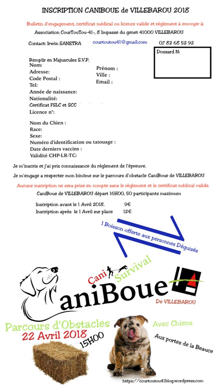 Courtoutou 41 - CaniBoue