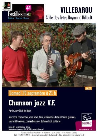 Concert de jazz par le Jazz Club de Blois avec le quartet Cyril Parmentier