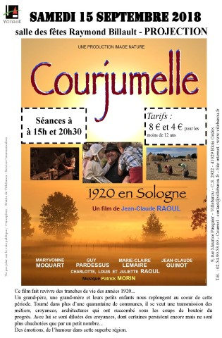 "Projection du film ""Courjumelle"" de Jean-Claude RAOUL"
