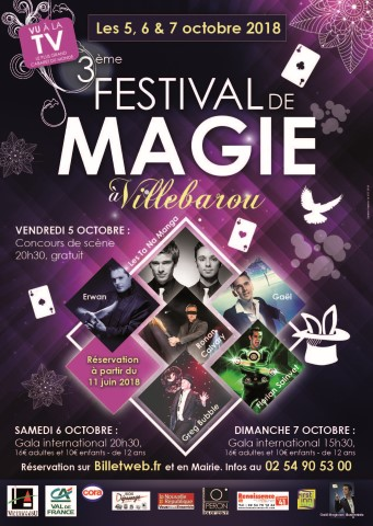 3ème Festival de Magie - Concours de scène