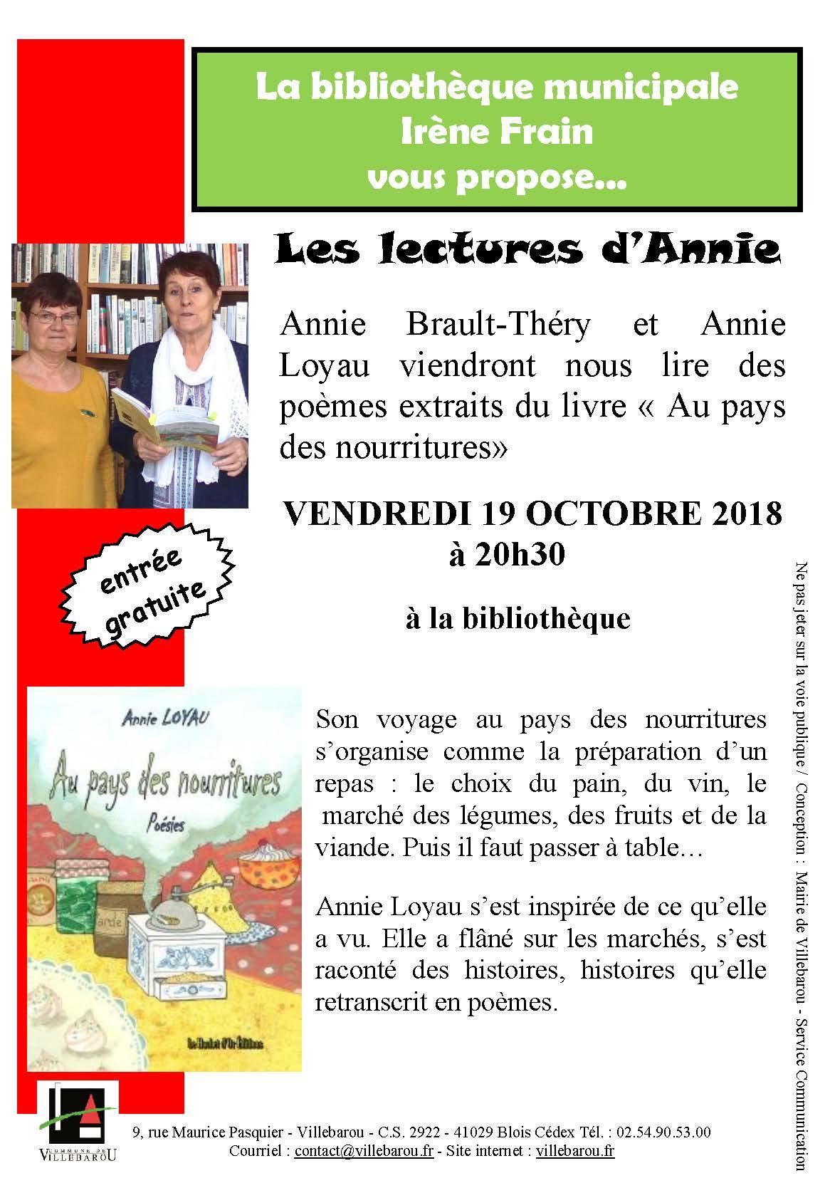 Les lectures d'Annie