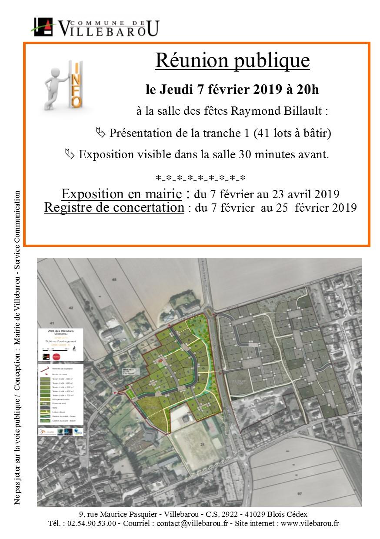 Réunion publique ZAC des Mézières