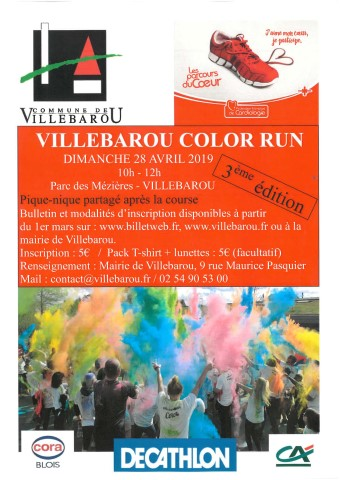 Villebarou Color Run