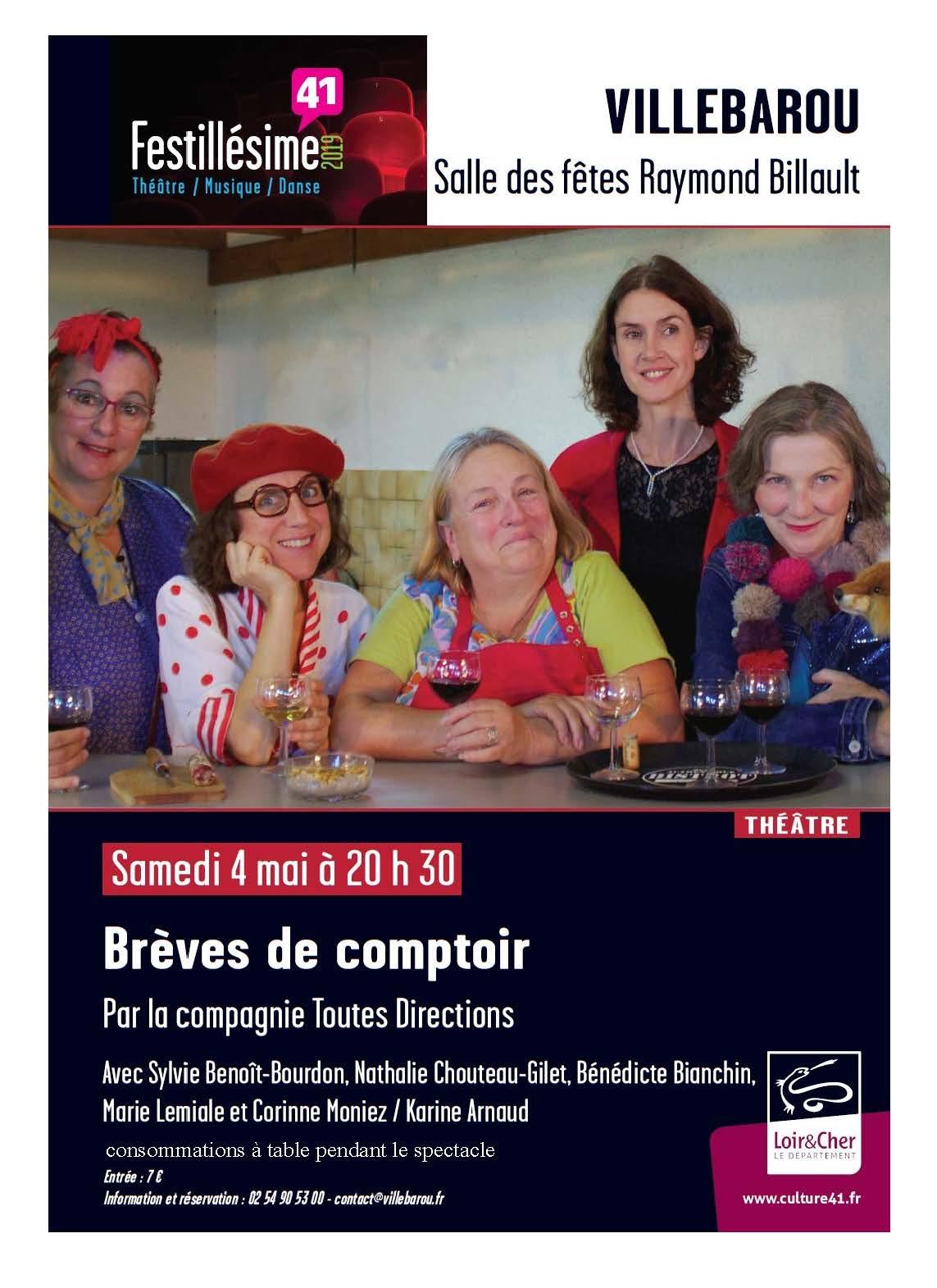 "Festillésime - ""Brèves de comptoir"""