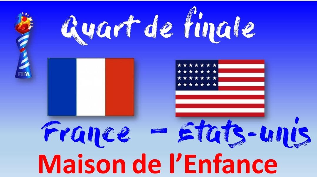 Coupe du Monde féminine : FRANCE / ETATS-UNIS