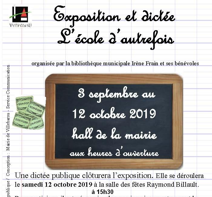 """Exposition """"L'école d'autrefois"""""""