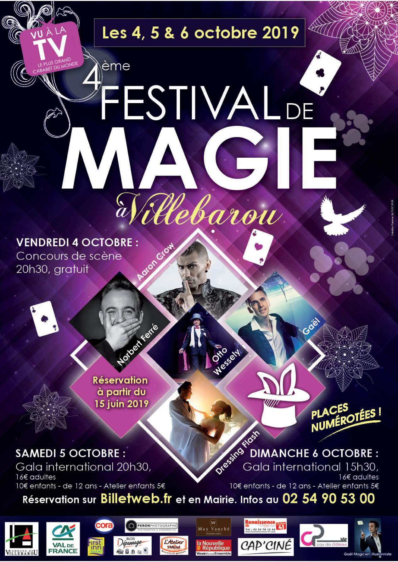 Festival de Magie - Concours de scène
