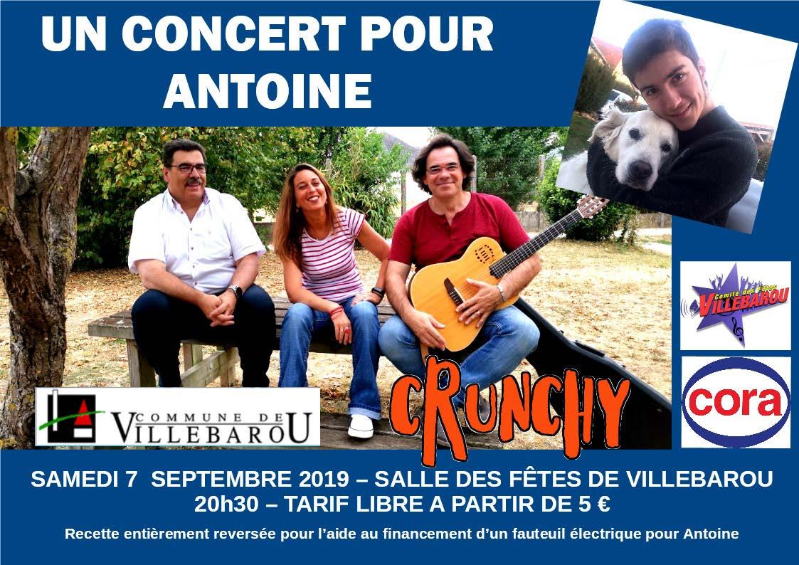 Un concert pour Antoine