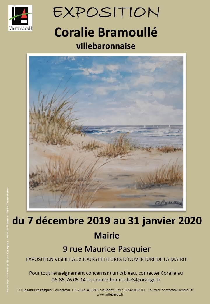 Exposition peintures Coralie BRAMOULLÉ