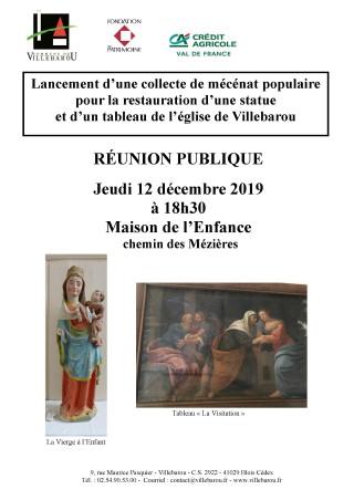 Réunion publique Fondation du Patrimoine