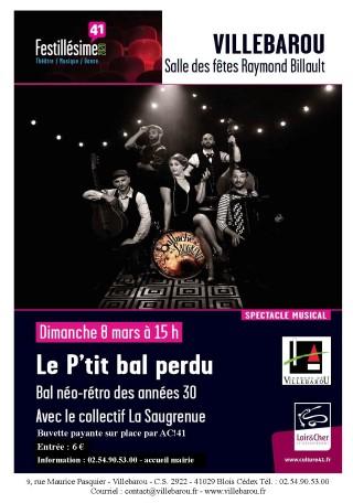 """Festillesime 41 - Bal néo-rétro """"Le P'tit bal perdu"""""""