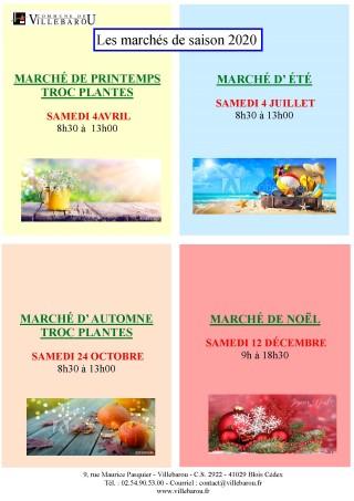 Marché de printemps et Troc'Plantes