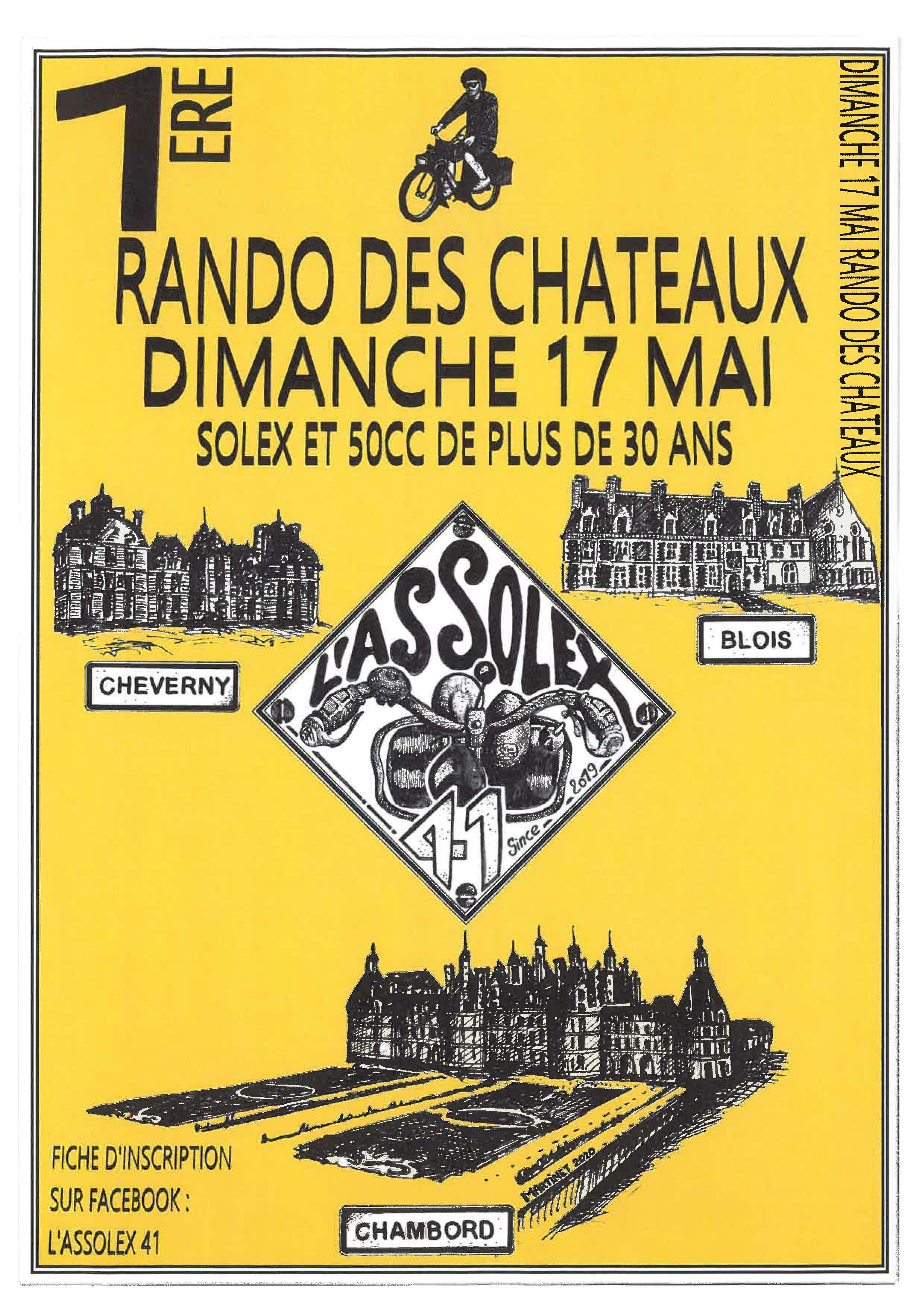 ASSOLEX 41 - Rando des Châteaux