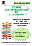 Forum des associations de Villebarou