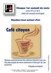 Café citoyen : samedi 4 septembre